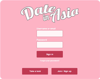 dating asia sign in